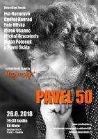 Pavel 50 - koncert Pavla Liptáka ve Mlejně