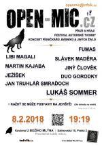 Open mic U Božího mlýna