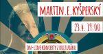 Martin E. Kyšperský - Živě z kulturáku