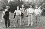 Druhá tráva v roce 1991. Zleva Jiří Meisner, Pavel Malina, Luboš Novotný, Luboš Malina a Robert Křesťan
