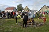Slavnostní zapálení táborového ohně