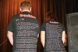 Fanklub Devítky představuje trička s texty písniček kapely