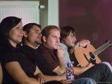 Publikum  teď patří  Žalmanovi a Marieni spokojeně naslouchají.
