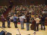 …a na závěr nechybělo ani akustické zpívání s publikem.