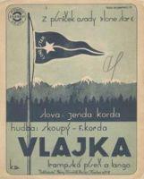 Vlajka - 1931, trampská píseň a tango
