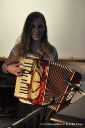 Anička s akordeonem