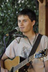 Písničkář Honza Řepka přivezl na kole texty kzamyšlení.