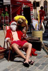 Santa Claus, když už jsou ty Vánoce...