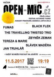 Open mic.cz v květnu