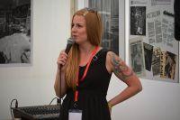 Magdaléna Hájková coby moderátorka diskuzí na HS