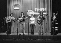Legendární zlínská (pardon gottwaldovská) skupina Rosa na Portě 1974 ve Svitavách. Přijela a zvítězila.