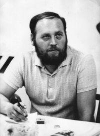Jožka Jégr v roce 1974