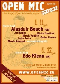 Open Mic NA PRAHA - Alasdair Bouch