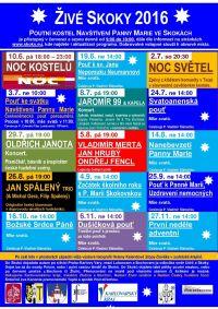 Program Živé Skoky 2016