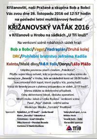 Křižanovský vaťák 2016