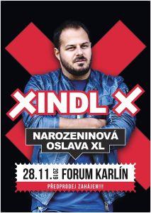 Xindl X oslaví XL. narozeniny