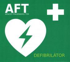 Arnošt Frauenberg Tým - Defibrilátor