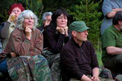 Andy Bábovka (uprostřed) na letošním Trapsavci