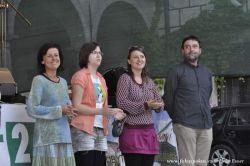 …zde s kolegy na dalších bodovaných místech (zleva Jana Bauerová, Klára Vytisková, Mirka Miškechová, Marek Vojtěch)