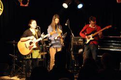 Šárka, Helena a Pavel - trio pro první píseň Půl  dechu do měchu