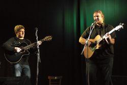 Kapela Passage dle přání pořadatele zavzpomínala na své začátky a představila se toho večera jen jako duo - Jarda Kuchař a David Watzl.