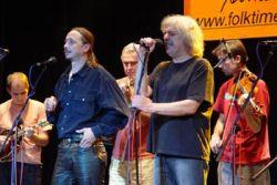 Míša Leicht a Robert Křesťan při společném koncertě BluegrassGarden