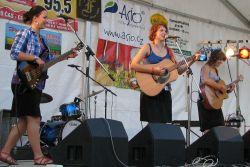 Vítězové Folkového kvítku - Kabája - trochu rocku na folkové akci