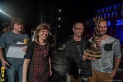 Předávání ceny 2014 - Jindra Černohorský s kapelou