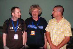 Milan Sova, Jiří Míža a Jakub Slamák - nejúspěšnější písničkáři Zahrady 2010
