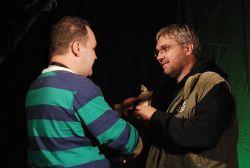 Veškeré ceny za Bob a bobky přebíral Tomáš A. Kuncl