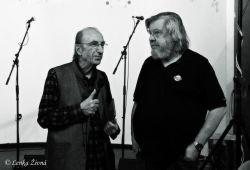 Mirek Kovářík a Tony Linhart, kamarádi z jejich časů portovních.