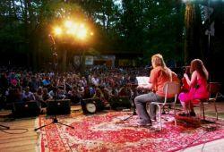 Jirka Mucha & Jana Balejová na scéně Porty 2012 v Řevnicích