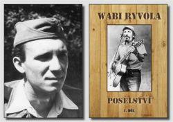 Vojín a ''černý baron'' Wabi Ryvola v roce 1957