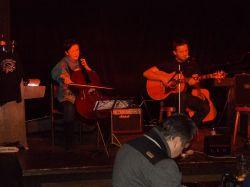 Honza Resl a violoncellistka Dita Holá