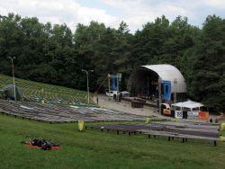 Po páteční ''předehře'' Vlasty Redla se Zahrada v sobotu začala chystat na ostrý start na amfiteátru.