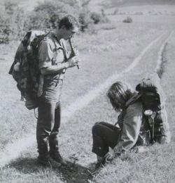 Miki Ryvola - vandr po Slovensku v roce 1964