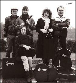 Skupina Klíč v roce 1985