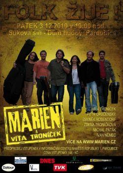 Vystoupení skupiny Marien