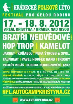 Hrádecké folkové léto 2012
