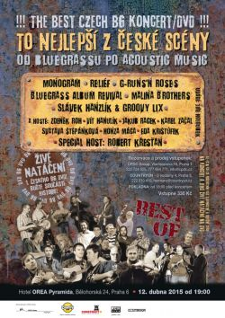 Pozvanka Koncert/DVD The Best of CZ Bluegrass