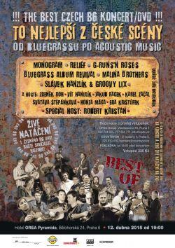 Pozvanka Koncert/DVD The Best of CZ Bluegrass