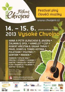 Festival Folkové Chvojení 2013