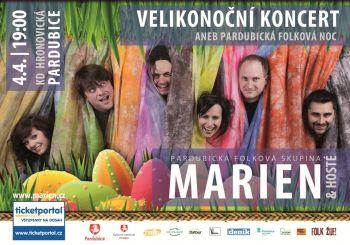 Plakát | Velikonoční koncert Marien