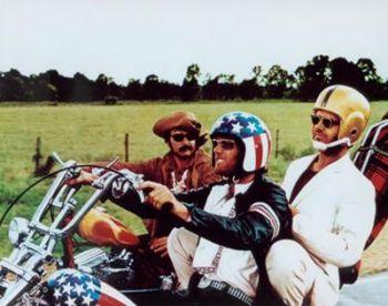 Záběr z filmu Easy Rider; zdroj: internet