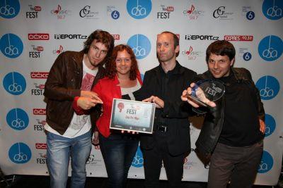 ČESKÝ YOUTUBE FEST: předání cen v klubu SaSaZu