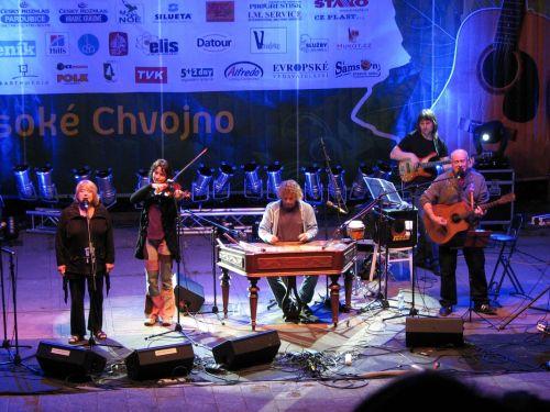 Závěr festivalu patřil skupině Javory