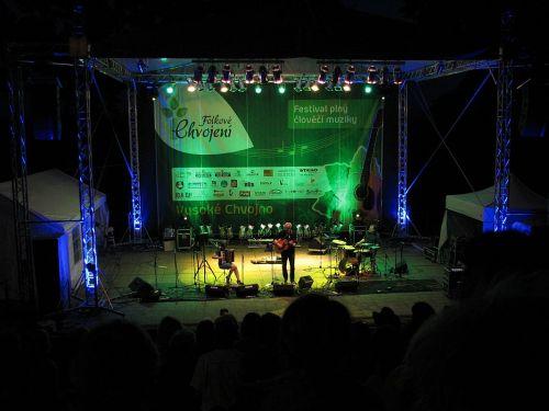 Folkové Chvojení byl jeden z prvních festivalů, které FOLKžije! pořádalo.