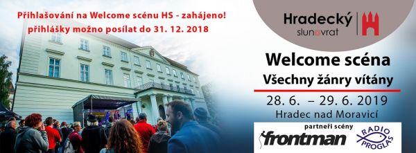 Welcome scéna Hradeckého slunovratu