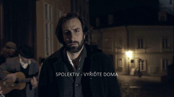 Petr Vaněk v klipu k písni Vyřiďte doma