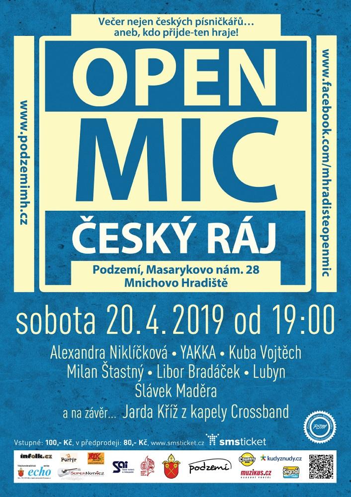 04 20 open mic cesky raj